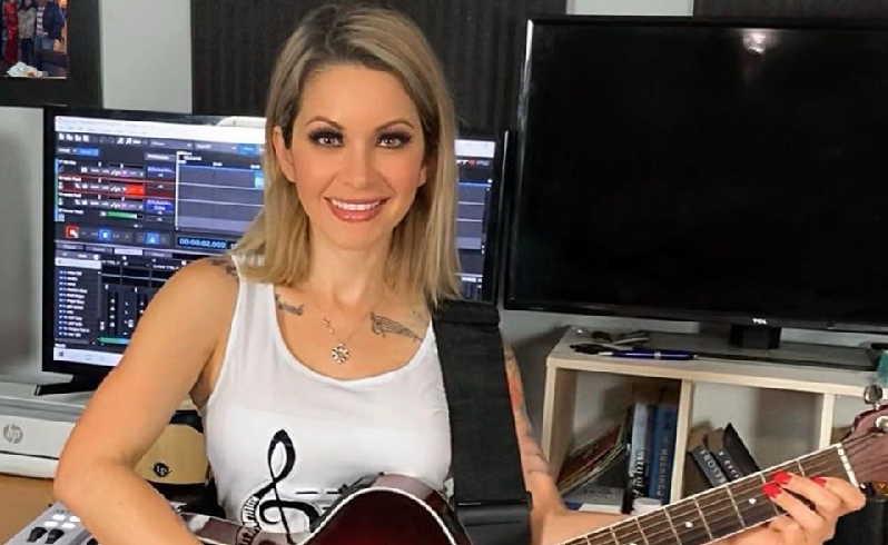 Sandra Camila se inspiró en las secuelas de la COVID-19 para componer el tema Tiempos de tempestad. (Foto: Tomada de su perfil de Facebook)