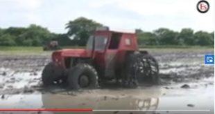 sancti spiritus, cosecha arrocera, empresa agroindustrial de granos sur dl jibaro
