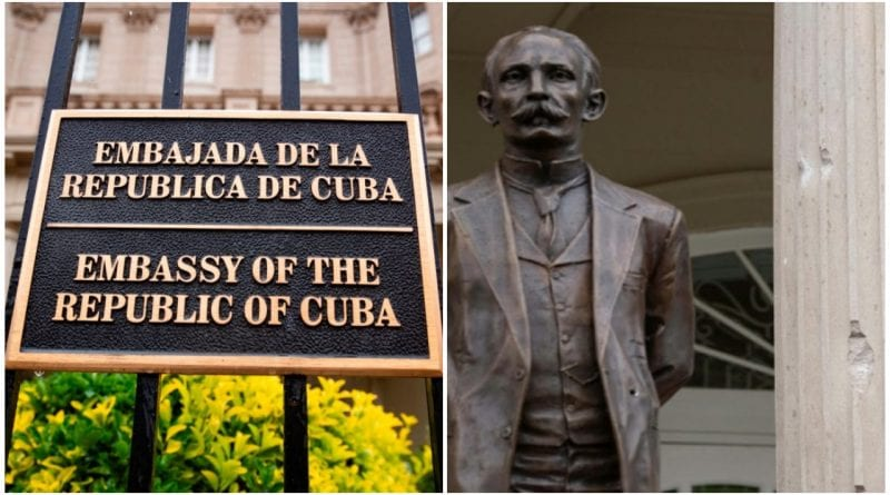 El gobierno norteamericano aún no se manifestó con una condena a la agresión terrorista contra la embajada de Cuba. (Foto: PL)