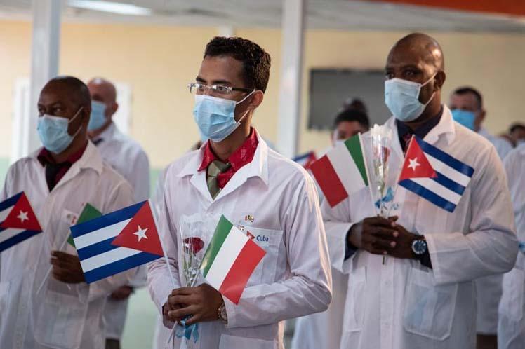 Coronavirus, Cuba, Italia, Colaboradores