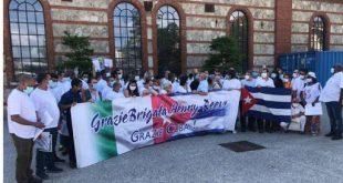 Cuba, Italia, colaboradores, COVID-19