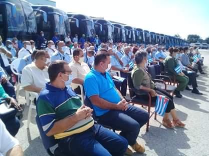 En la actividad se reconoció el servicio de la UEB Ómnibus Nacionales Sancti Spíritus.