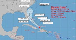 cuba, meteorologia, huracanes, ciclones, isaias