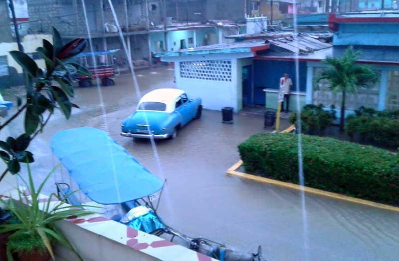 sancti spiritus, tormenta local severa, lluvias en sancti spiritus, centro meteorologico provincial