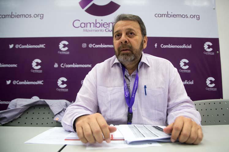 Timoteo Zambrano afirmó que se produjo un cambio en cuanto al sistema electoral. (Foto: PL)