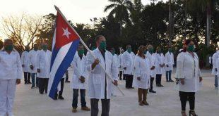 cuba, premio nobel de la paz, contingente henry reeve, medicos cubanos, covid-19, coronavirus