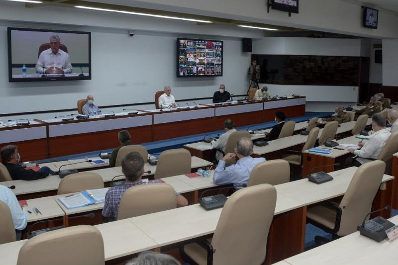cuba, economia cubana, miguel diaz-canel, consejo de ministros, presidente de la republica de cuba