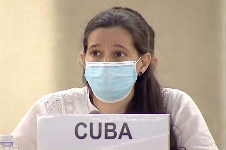 Astiasarán destacó que el evento constituye un espacio único dentro de Naciones Unidas para el diálogo abierto y constructivo. (Foto: PL)