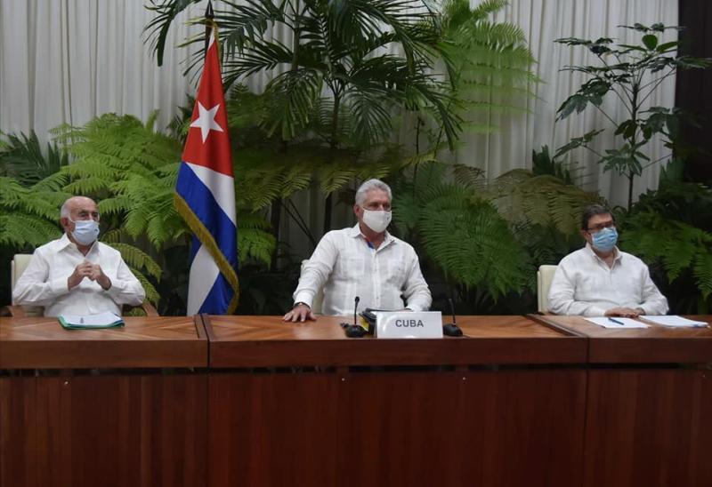 cuba, foro de sao paulo, miguel diaz-canel, presidente de la republica de cuba