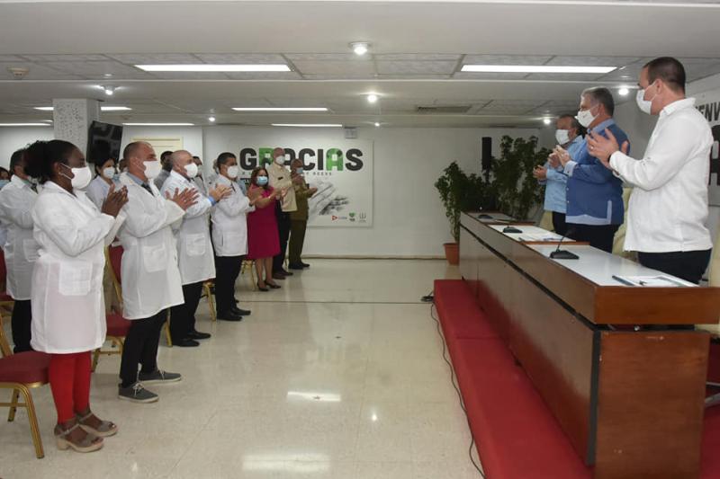 cuba, covid-19, contingente henry reeve, miguel diaz-canel, andorra, nicaragua, antigua y barbuda, medicos cubanos
