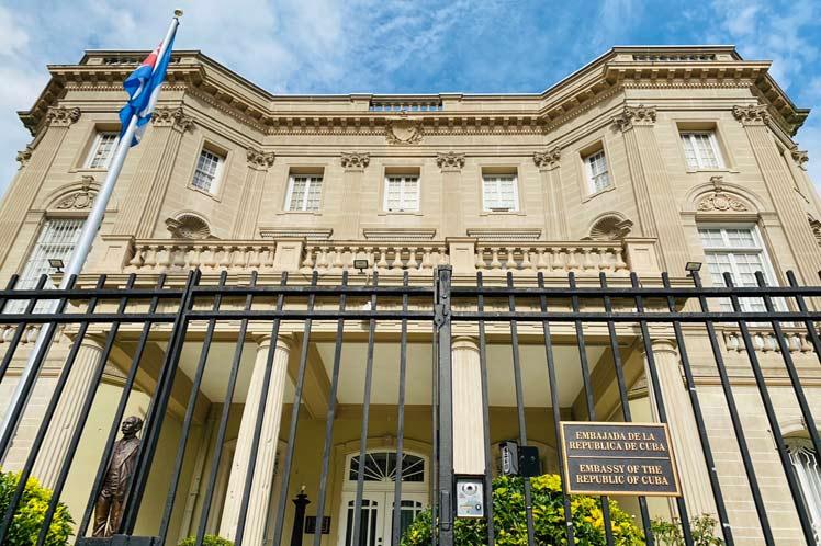 La misión diplomática cubana en EE.UU. ha sido testigo y partidaria de los fuertes lazos entre  nuestros pueblos. (Foto: PL)