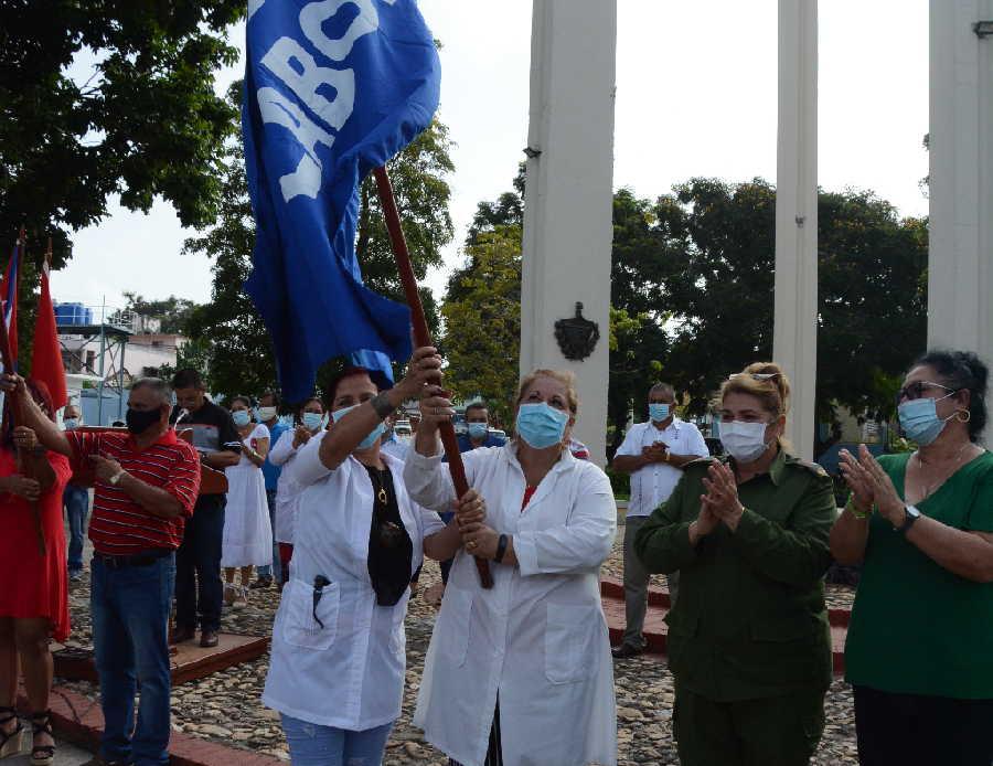 sancti spiritus, consejo de defensa, ctc, central de trabajadores de cuba, hospital de rehablitacion