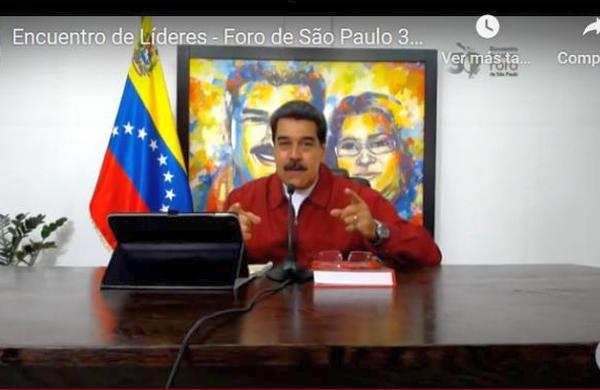venezuela, foro de sao paulo, nicolas maduro