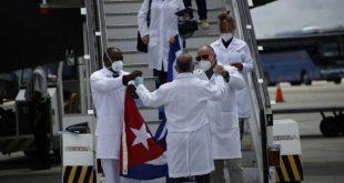cuba, mexico, contingente henry reeve, medicos cubanos, covid-19, coronavirus