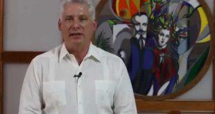 cuba, telesue, miguel diaz-canel, presidente de la republica de cuba