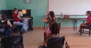 sancti spiritus, cultura, Escuela Elemental de Arte Ernesto Lecuona, danza, musica
