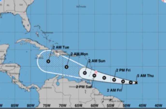 huracanes, tormenta tropical, gonzalo, desastres naturales, instituto de meteorologia
