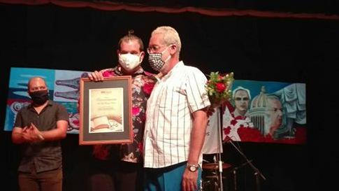 Ariel Fonseca fue reconocido en la provincia por su Premio Calendario 2020.