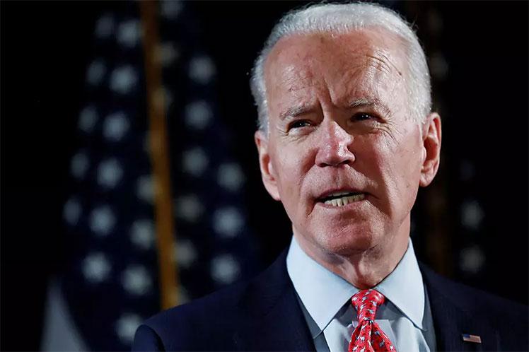 'Creo que lo ve  como un beneficio político, simplemente sigue echando leña al fuego,  este es su Estados Unidos ahora', expresó el aspirante a la Casa Blanca. (Foto: PL)