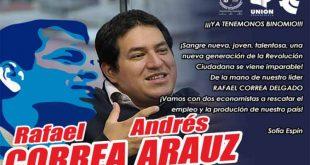 Ecuador, elecciones, Rafael Correa