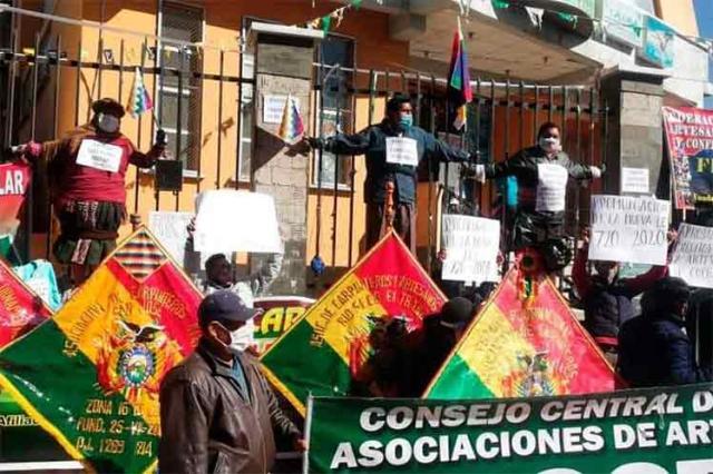 bolivia, manifestaciones