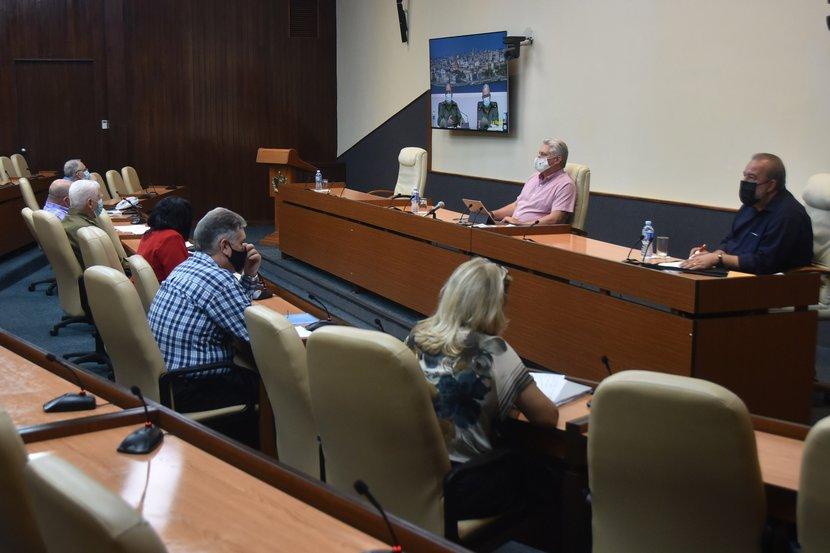 El Grupo Temporal de Trabajo del Gobierno insiste en las medidas para frenar el nuevo brote de la enfermedad. (Foto: Estudios Revolución)