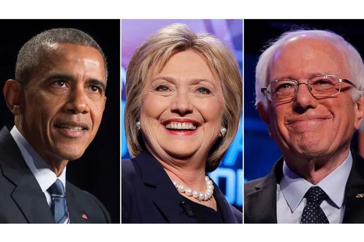Barack Obama, Hillary Clinton y Bernie Sanders estarán entre los oradores. (Foto: PL)