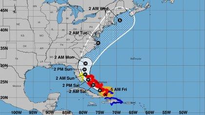 Florida decretó el estado de emergencia ante la amenaza del huracán Isaías.