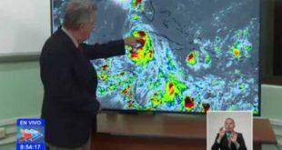 Tormenta Laura, Meteorología, Defensa Civil