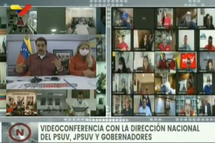 Maduro recalcó que el gobierno colombiano es colonizado y se pliega a los intereses de Estados Unidos. (Foto: PL)