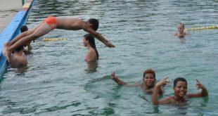sancti spiritus, etapa estival, verano, piscina, covid-19, coronavirus