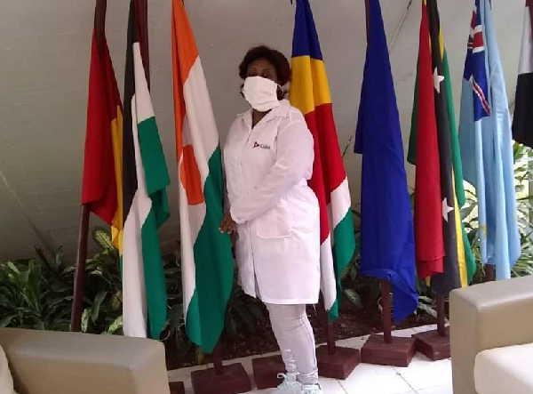 sancti spiritus, contingente henry reeve, covid-19, licenciada en enfermeria, emiratos arabes unidos, fmc, federacion de mujeres cubanas