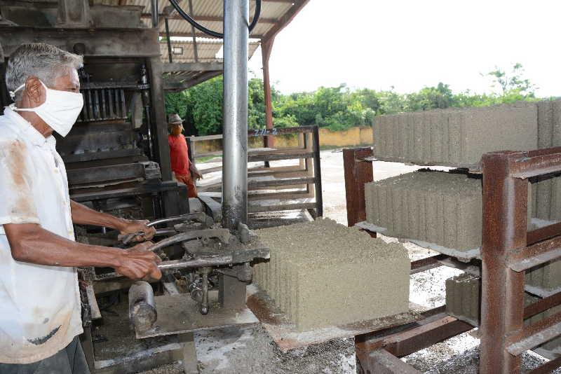 La producción de bloques con destino al Mincin se comporta de acuerdo con la demanda.