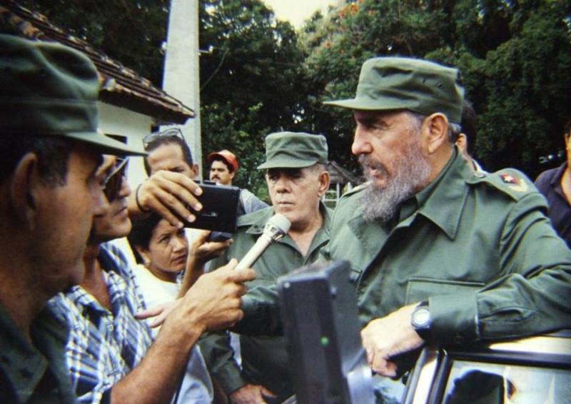 sancti spiritus, fidel castro, #fidelporsiempre, banao, periodistas, prensa cubana