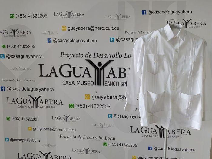 guayabera donada por eusebio leal a la casa de la guayabera de sancti spiritus