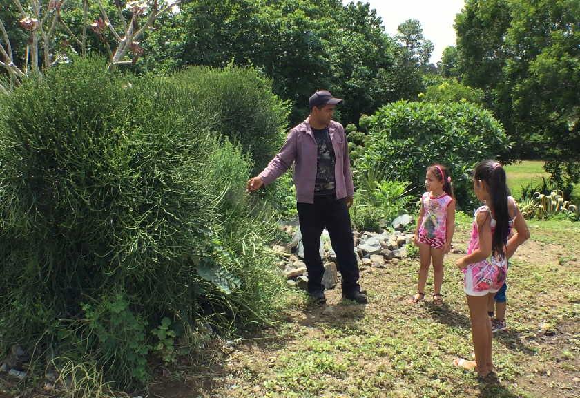 Los recorridos pueden ser guiados y constituyen una oportunidad para el aprendizaje de los niños. (Fotos: Yoan Pérez / Escambray)