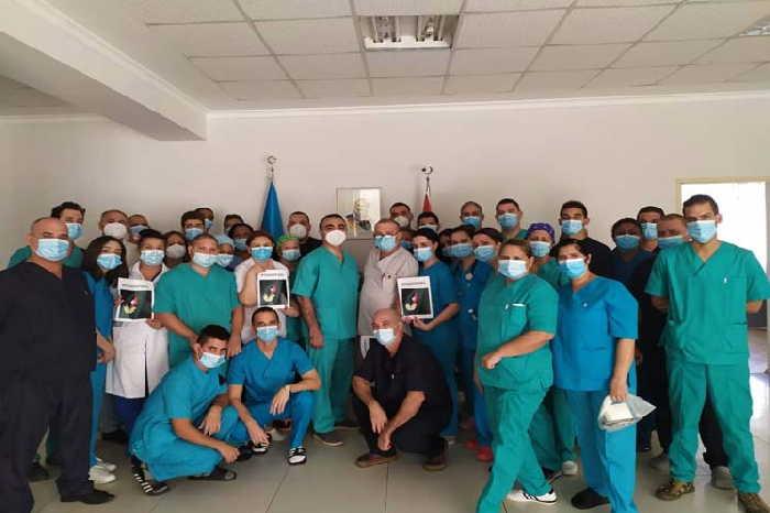 cuba, medicos cubanos, azerbaiyan, contingente henry reeve