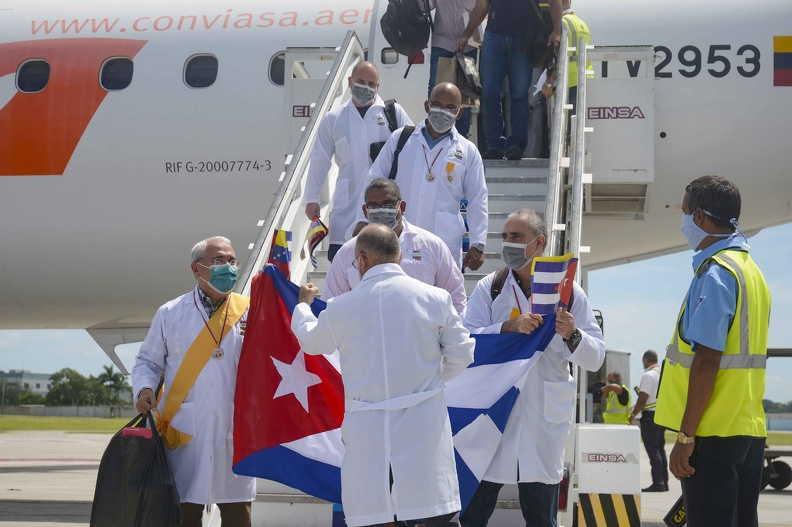 cuba, venezuela, covid-19, coronavirus, contingente henry reeve, medicos cubanos