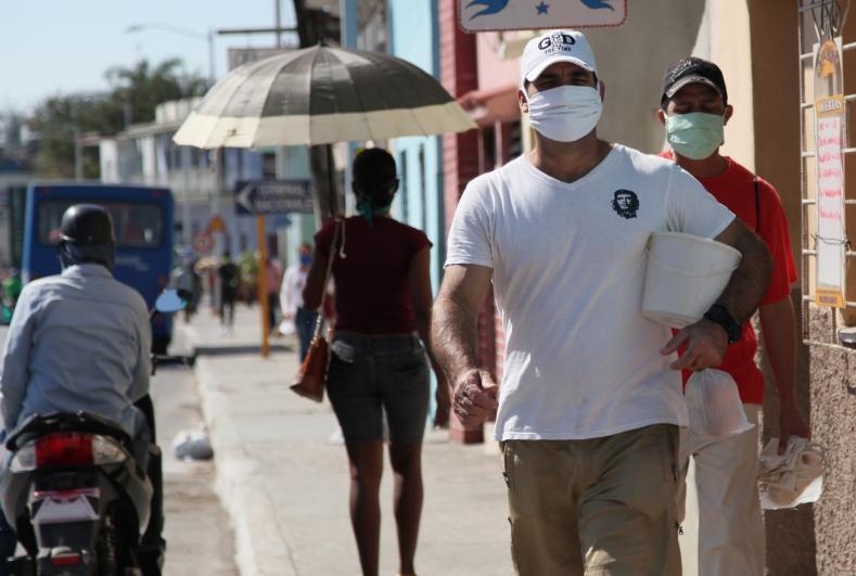 La responsabilidad individual resulta clave para frenar el avance de la pandemia. (Foto: Oscar Alfonso)