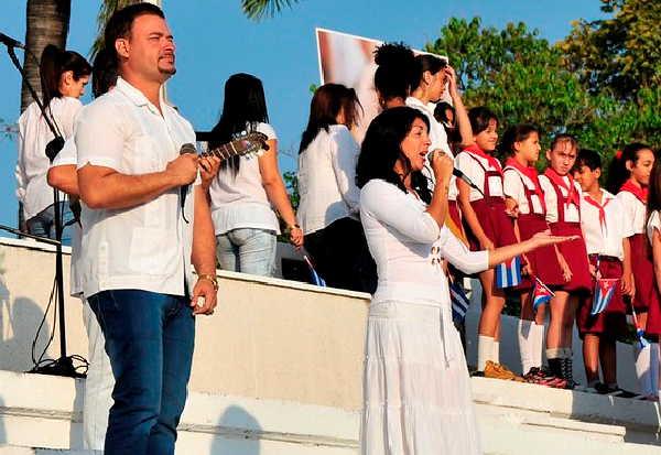 sancti spiritus, fmc, federacion de mujeres cubanas, vilma espin, musica