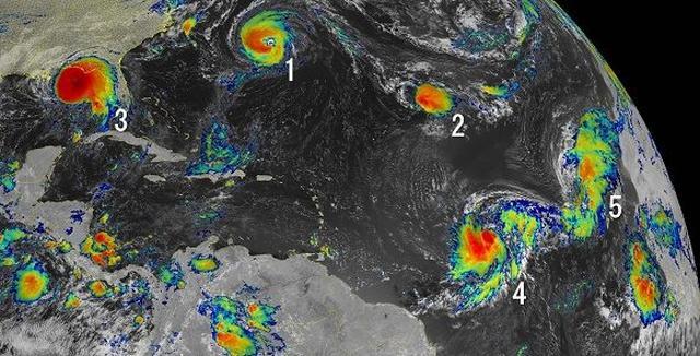 temporda ciclonica, huracanes, desastres naturales