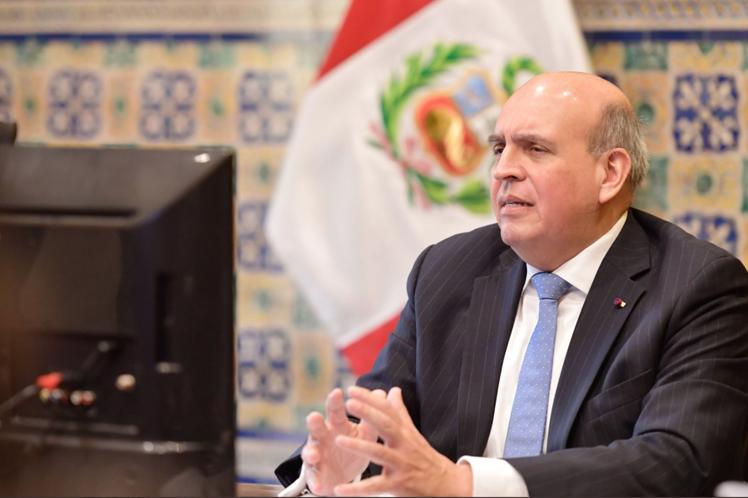 Perú respalda la candidatura cubana como parte del Grupo Latinoamericano  y del Caribe, que apoya en bloque la elección, consideró el canciller Mario López. (Foto: PL)