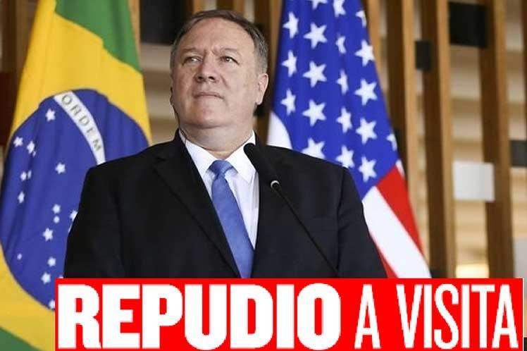 brasil, mike pompeo, partido de los trabajadores