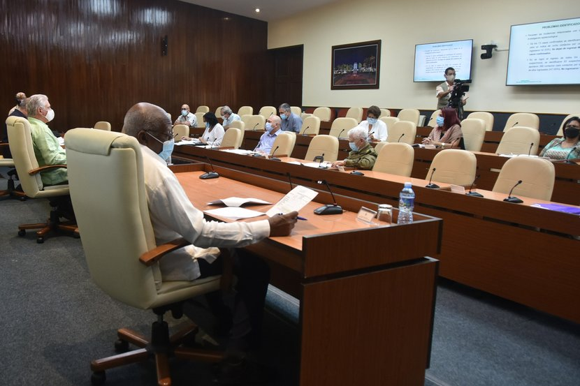 En el encuentro se ratificó la importancia de cumplir con rigurosidad cada una de las medidas que se han diseñado en el país. (Foto: Estudios Revolución)