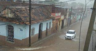 Lluvias, Meteorología, Sancti Spíritus, Trinidad, Cuba