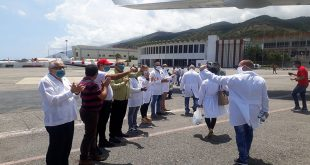 Cuba, Venezuela, coronavirus, colaboración médica