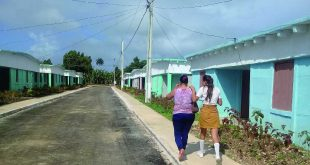 sancti spiritus, yaguajay, construccion de viviendas, huracan irma, mayajigua