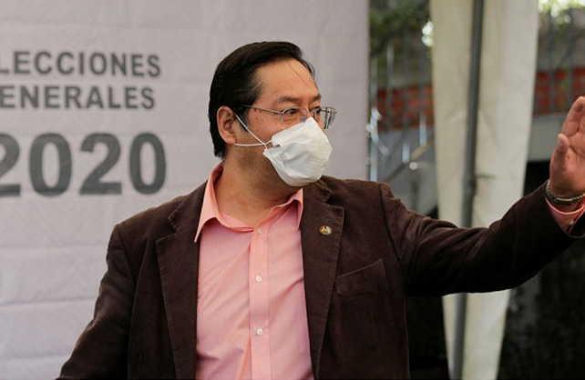 bolivia, luis arce, mas, bolivia en elecciones