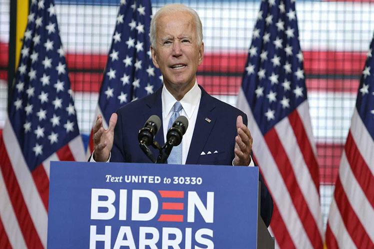 Con  la reciente divulgación, Biden ya hizo públicas sus declaraciones de  impuestos de los últimos 22 años. (Foto: PL)