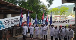 cuba, honduras, medicos cubanos, covid-19, contingente henry reeve